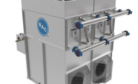 Plug-and-play, modular, hybrid fluid cooling system from Baltimore Aircoil Co.