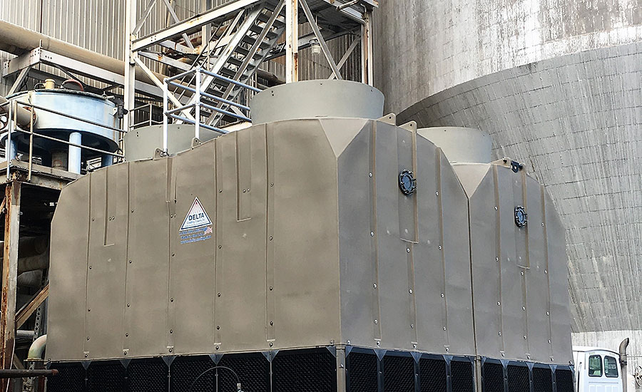 High density polyethylene (HDPE) cooling towers