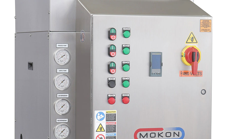 Sanitary chillers for critical processes from Mokon.