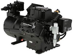 4-cylinder compressors for process chillers from Emerson.