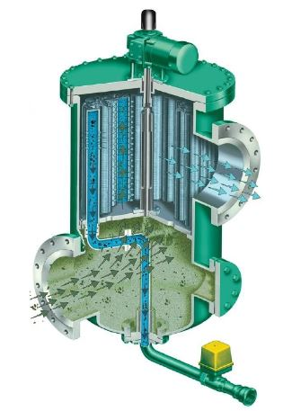 filtration in cooling towers