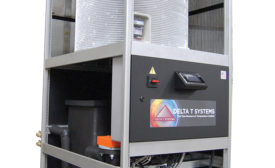Combination heater/chiller from Delta T Systems.