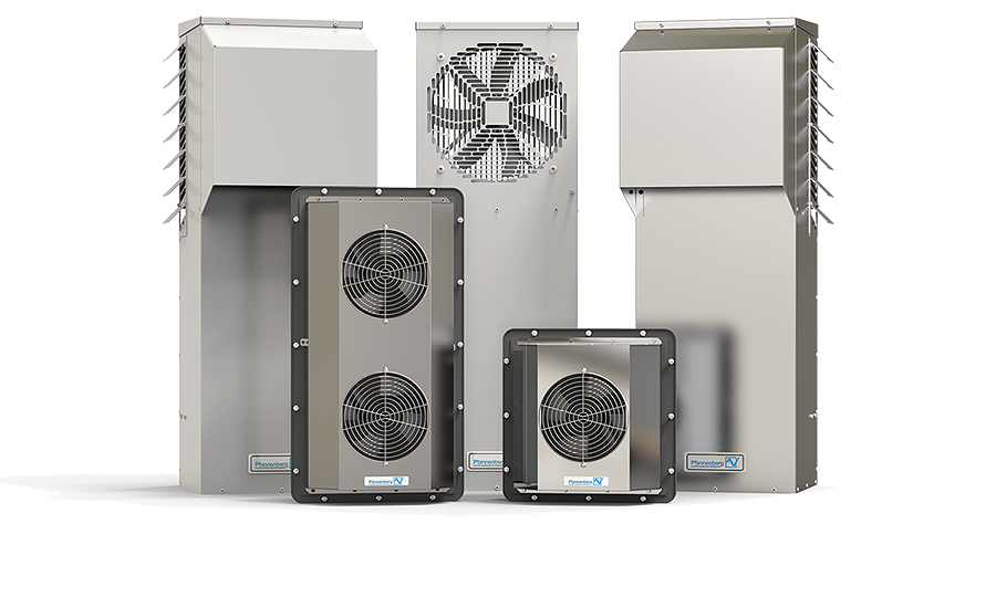 Air-to-air heat exchangers from Pfannenberg.