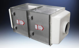 HEPA and carborn inline filter packs from Hemco.