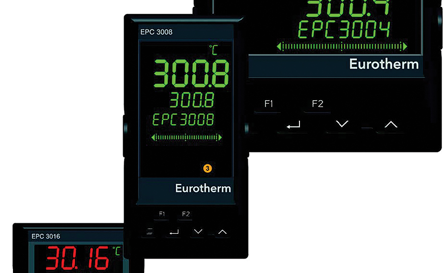Programmable, single-loop process and temperature controllers from Eurotherm.