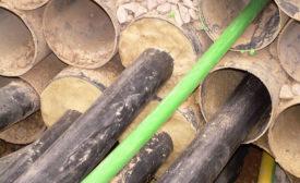 Sealing mastic from Denso USA.