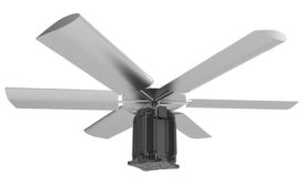PC July/August 2021 Products: Fan System. Image provided by Baltimore Aircoil.