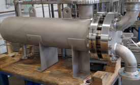 PC June 2021 Products Enerquip Shell-and-Tube Heat Exchangers. Image provided by Enerquip