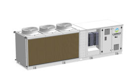 PC June 2021 Products CO2 Air-Cooled Condensing Unit. Image provided by M&M Carnot Refrigeration
