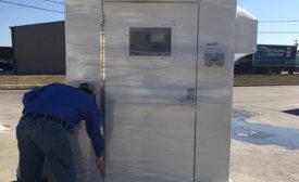 PC May 2021 Products: Prefabricated Fiberglass Shelter
