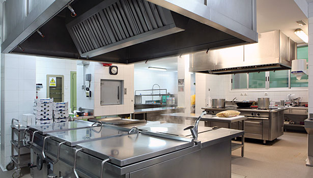 Industrial gases leak detection industrial kitchen