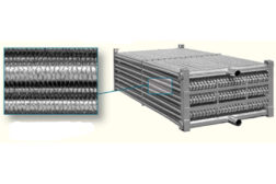 Evaporative Condenser Technology Using Elliptical Tubes with Extended Surface Fins