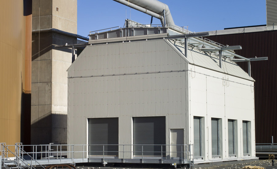 Standby Cooling Towers Installed At Nuclear Power Plant In