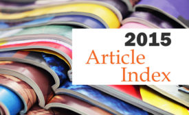 Process Cooling 2015 article index