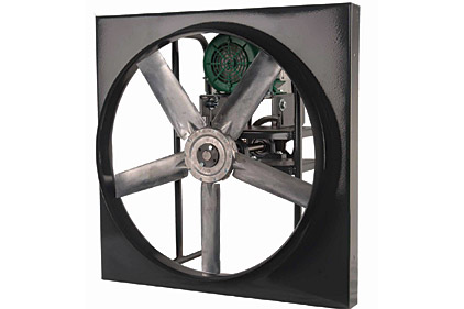 Panel fan belt drive applications